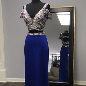 2 Cute Dresses - 2 Piece Prom Dress or Formal Dress